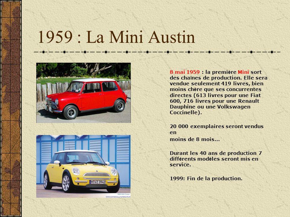 1959 : La Mini Austin