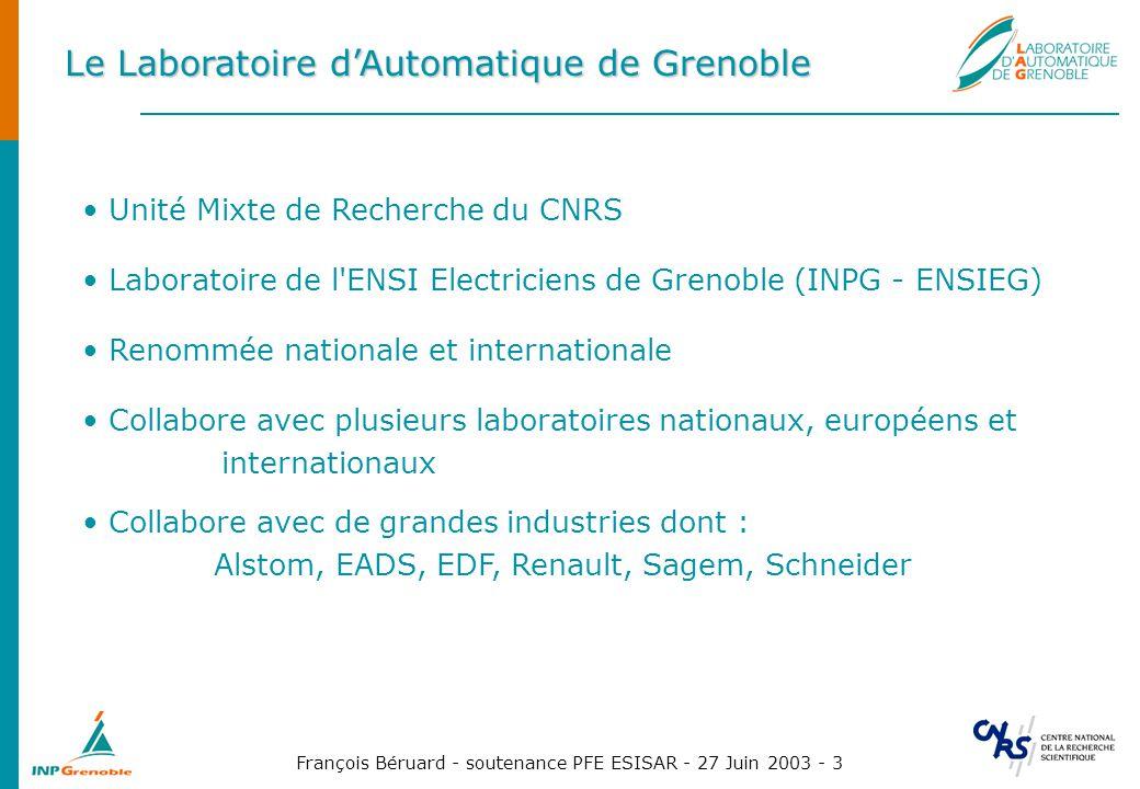 Le Laboratoire d'Automatique de Grenoble