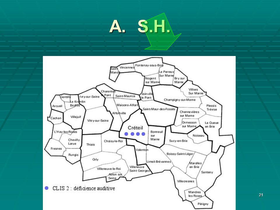 A. S.H.