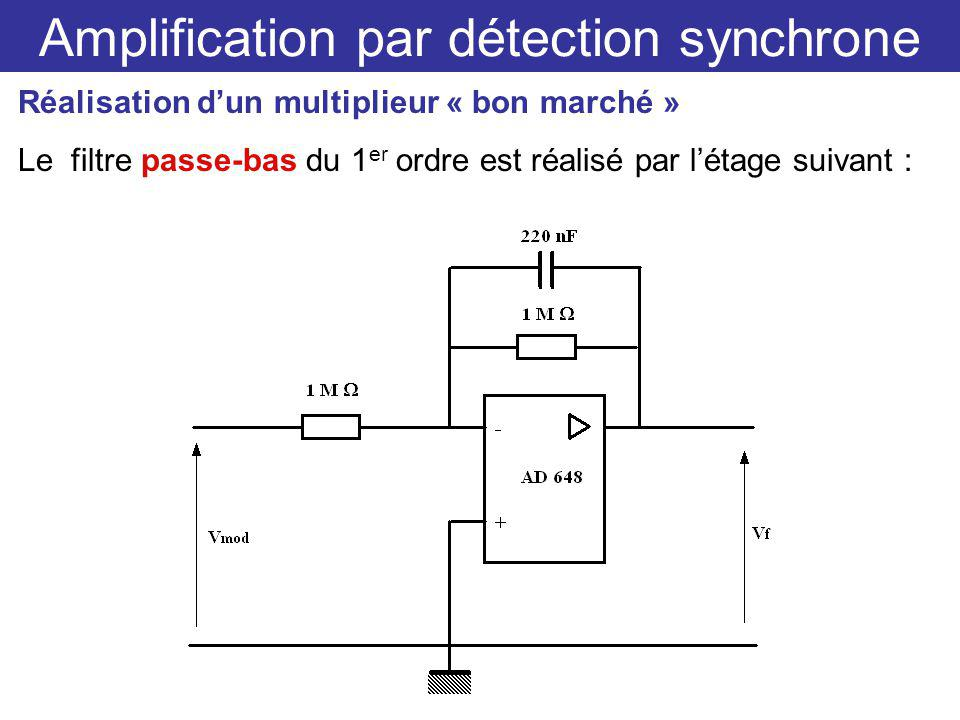 Amplification par détection synchrone