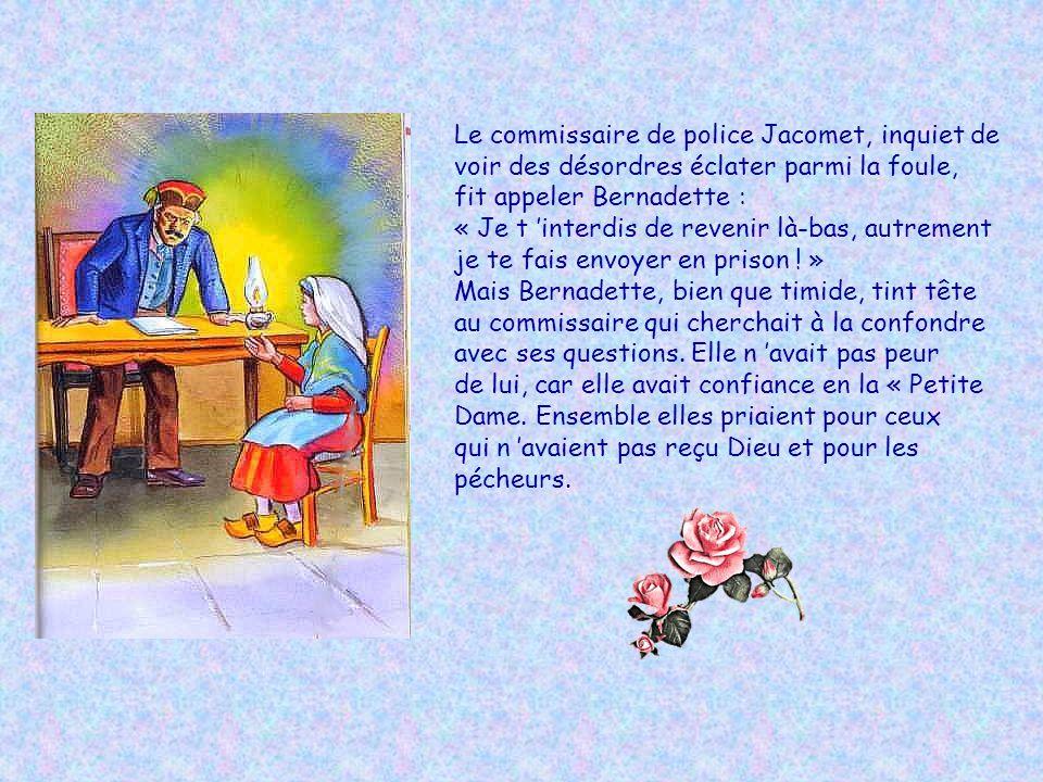 Le commissaire de police Jacomet, inquiet de