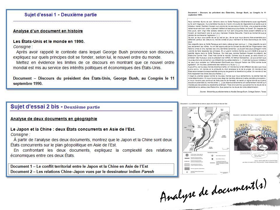Analyse de document(s)