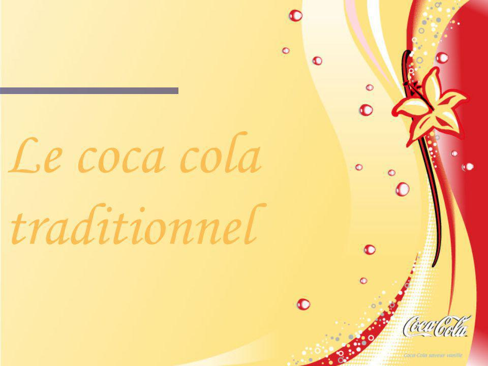 Le coca cola traditionnel