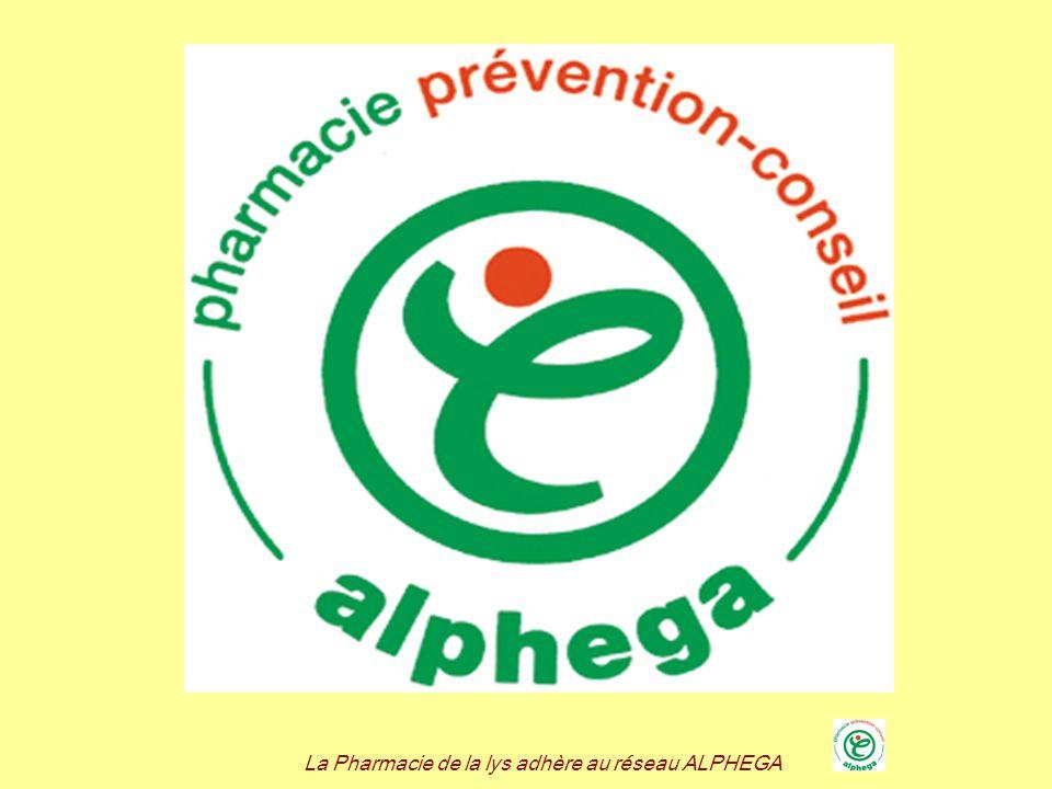 La Pharmacie de la lys adhère au réseau ALPHEGA