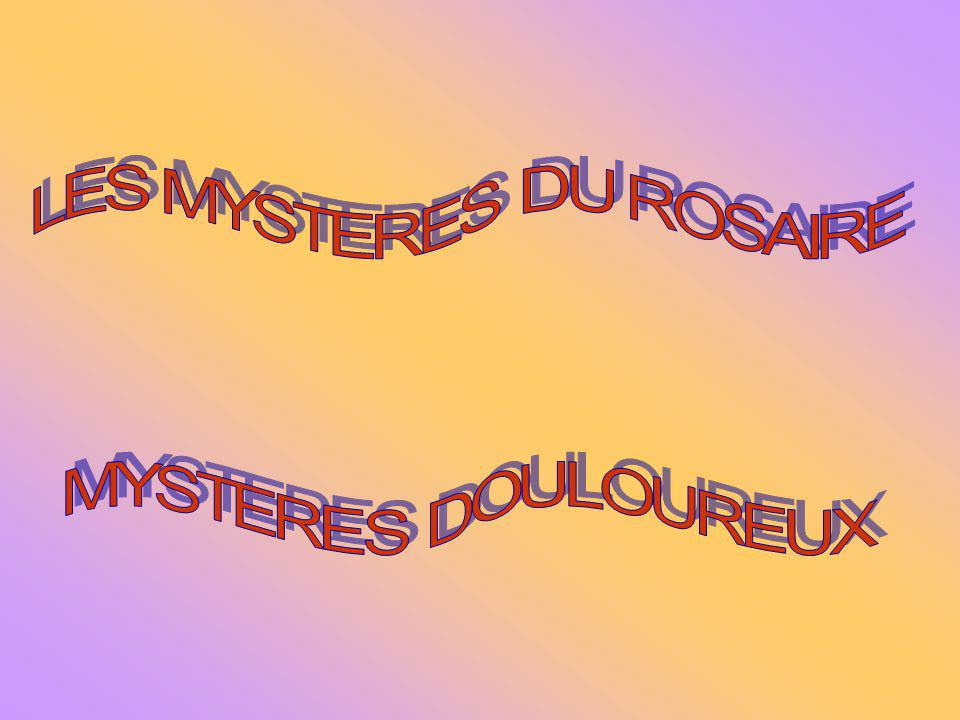 LES MYSTERES DU ROSAIRE