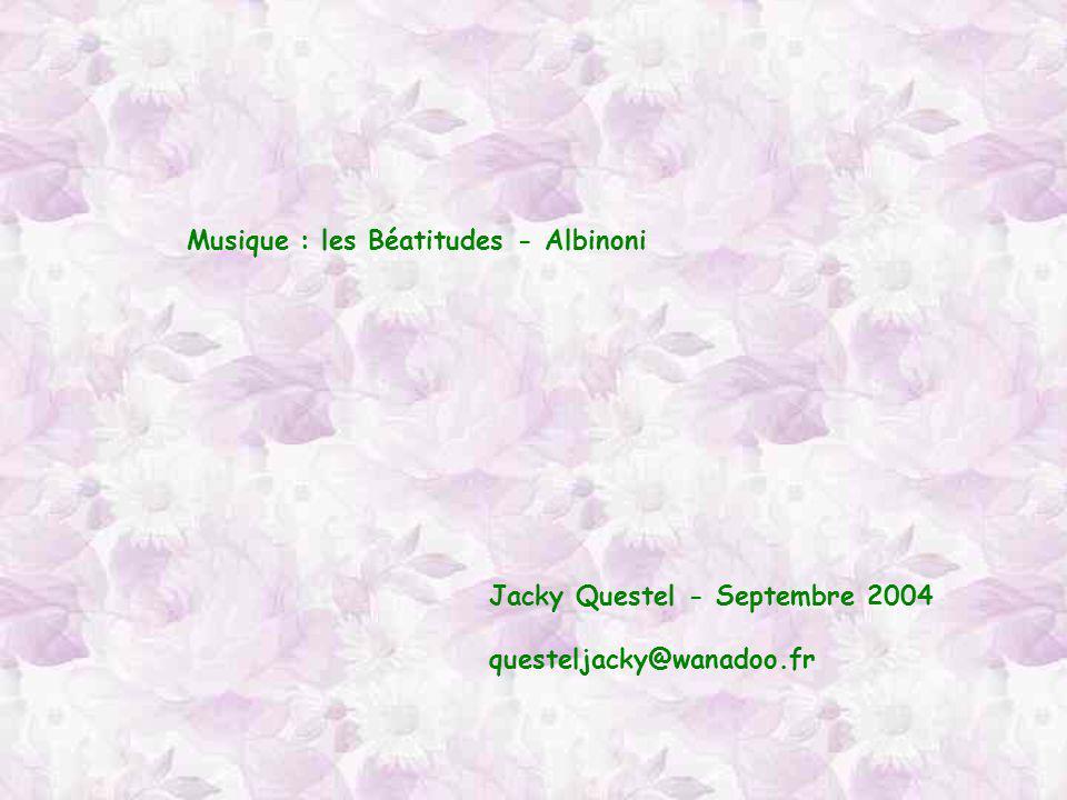 Musique : les Béatitudes - Albinoni