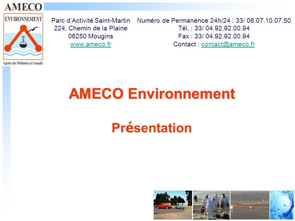 AMECO Environnement Présentation
