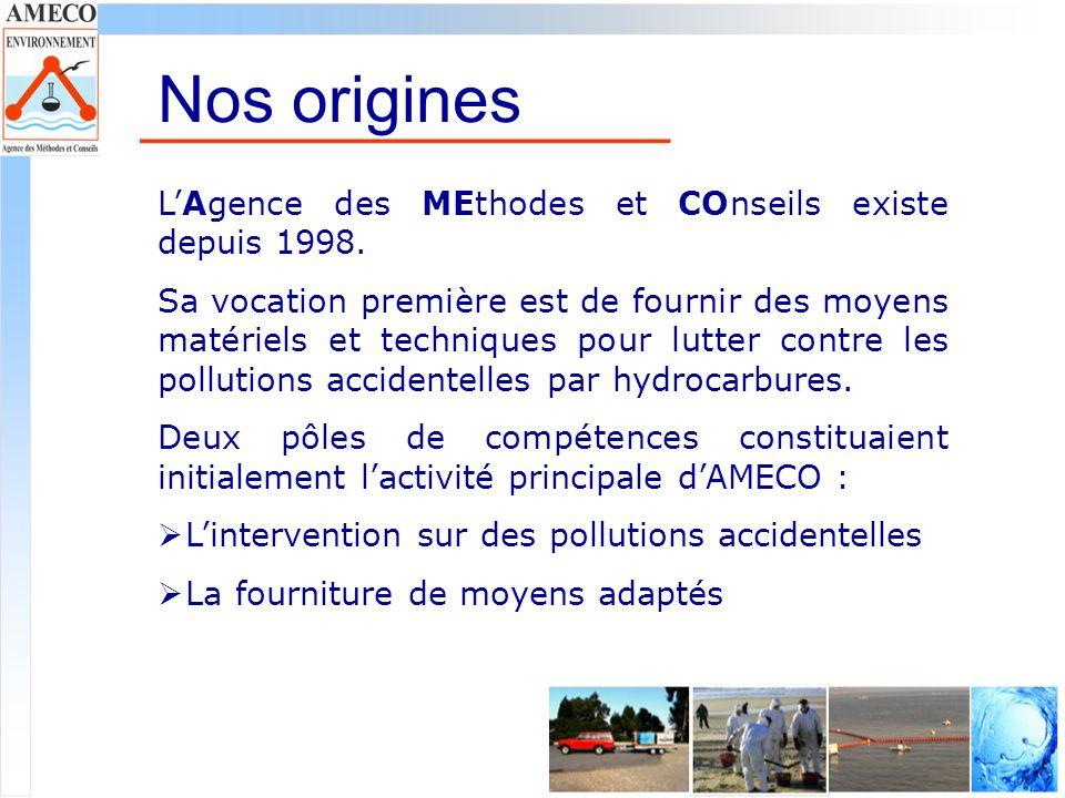 Nos origines L'Agence des MEthodes et COnseils existe depuis 1998.