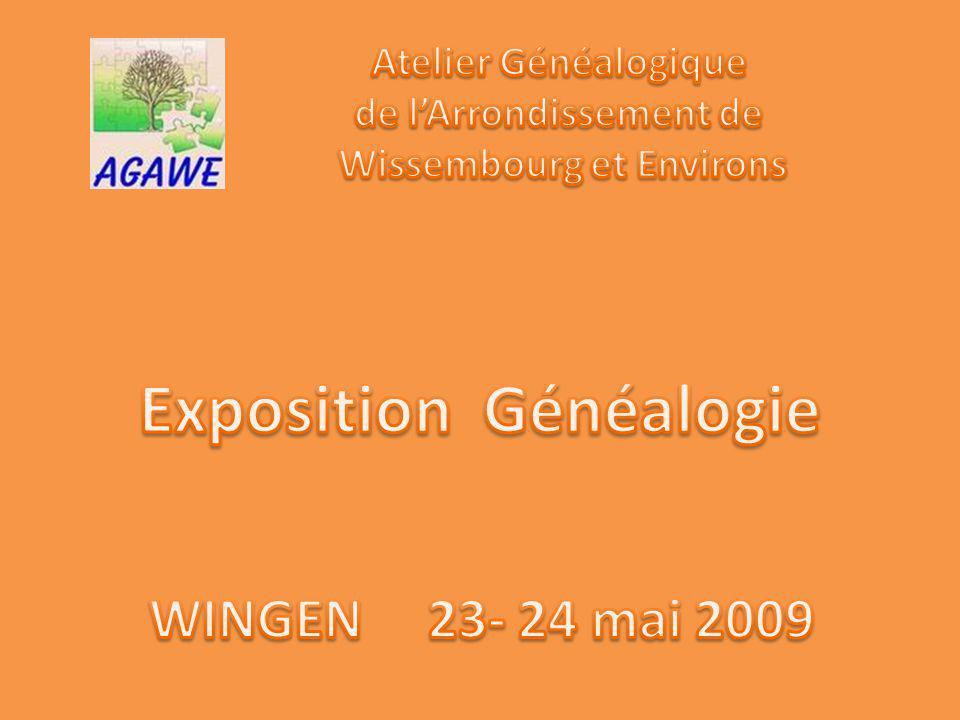 Exposition Généalogie