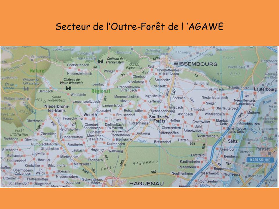 Secteur de l'Outre-Forêt de l 'AGAWE