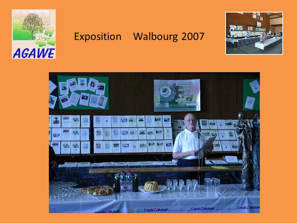Exposition Walbourg 2007