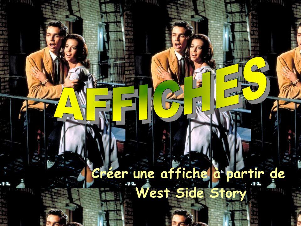 Créer une affiche à partir de West Side Story