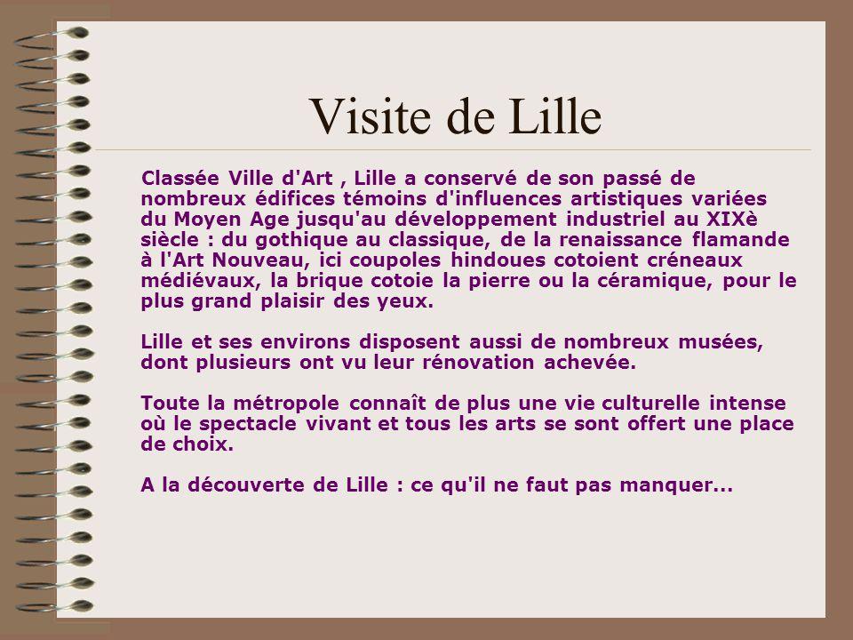 Visite de Lille