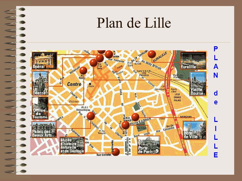 Plan de Lille P L A N d e I E