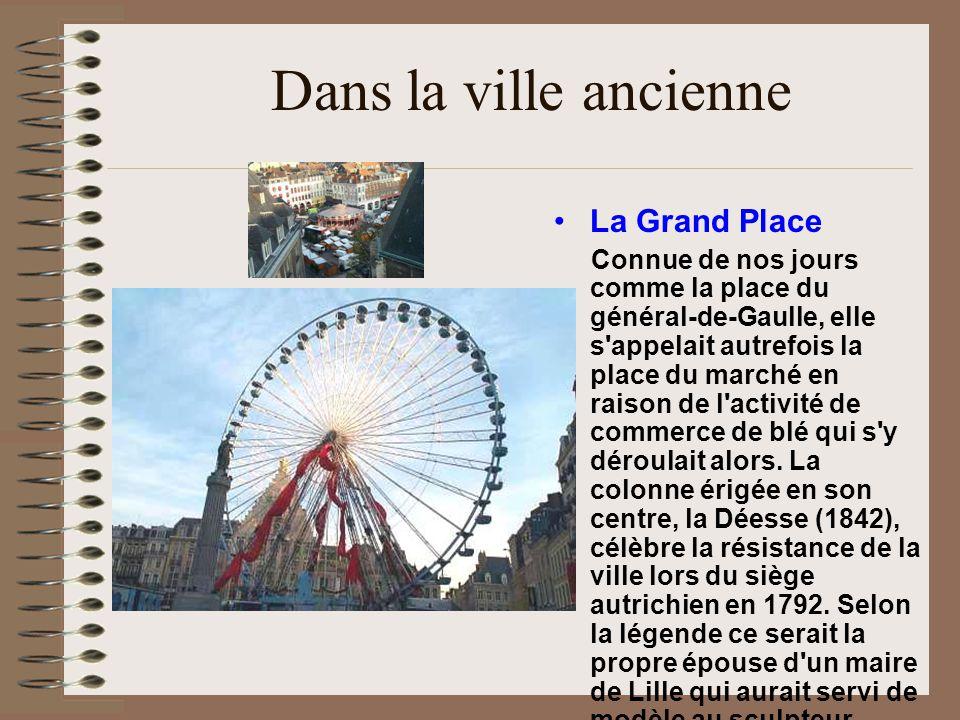 Dans la ville ancienne La Grand Place