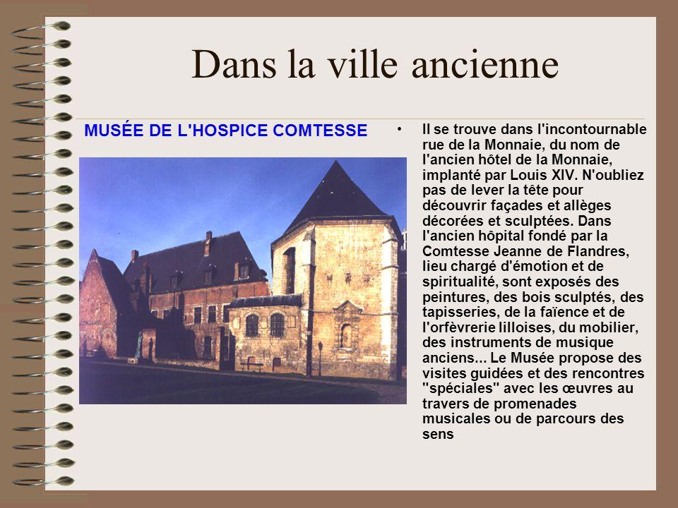 Dans la ville ancienne MUSÉE DE L HOSPICE COMTESSE