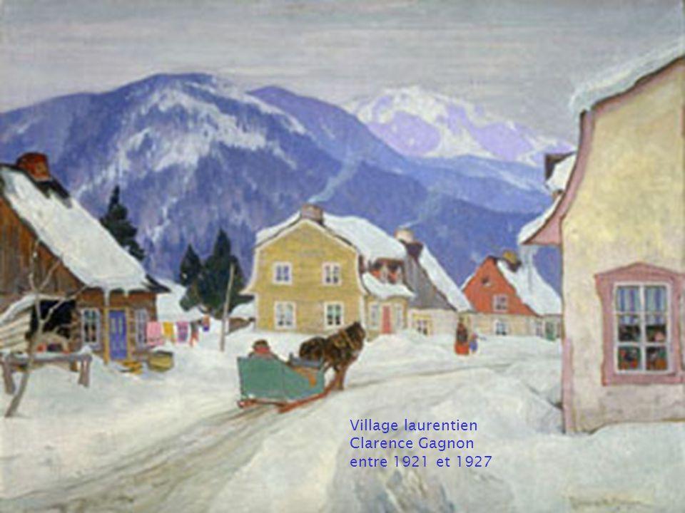 Les peintres célèbres canadiens