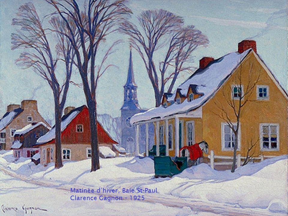 Village laurentien Clarence Gagnon entre 1921 et 1927