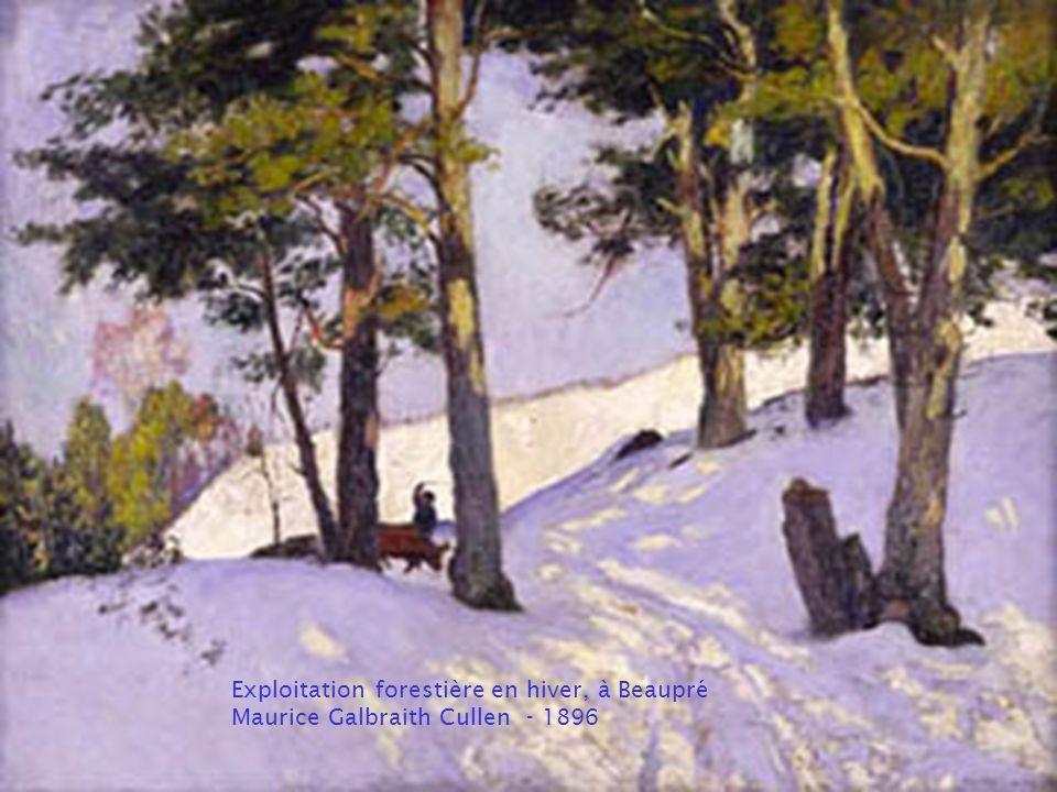 Paysage d'hiver – 1921 Frederick Simpson Coburn