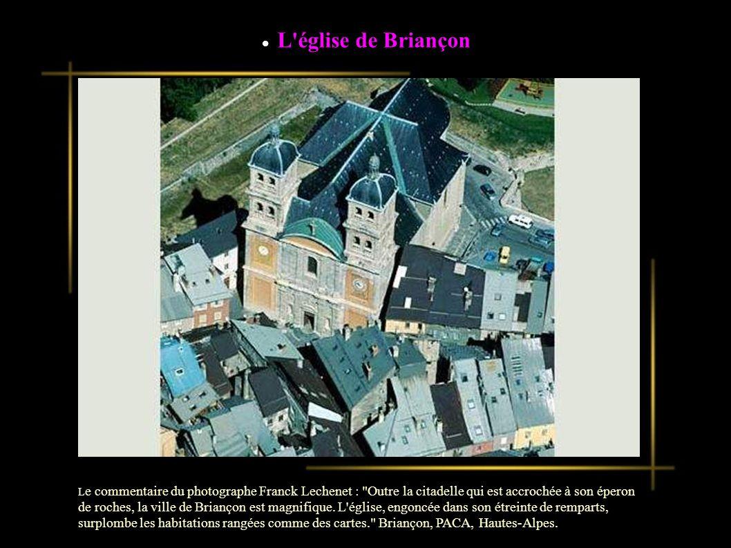L église de Briançon Briançon, PACA, Hautes-Alpes.