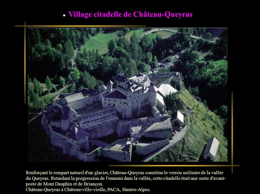 Village citadelle de Château-Queyras