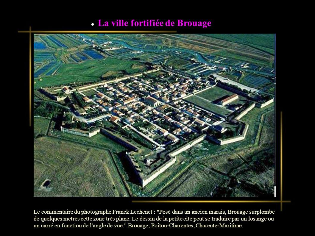 La ville fortifiée de Brouage