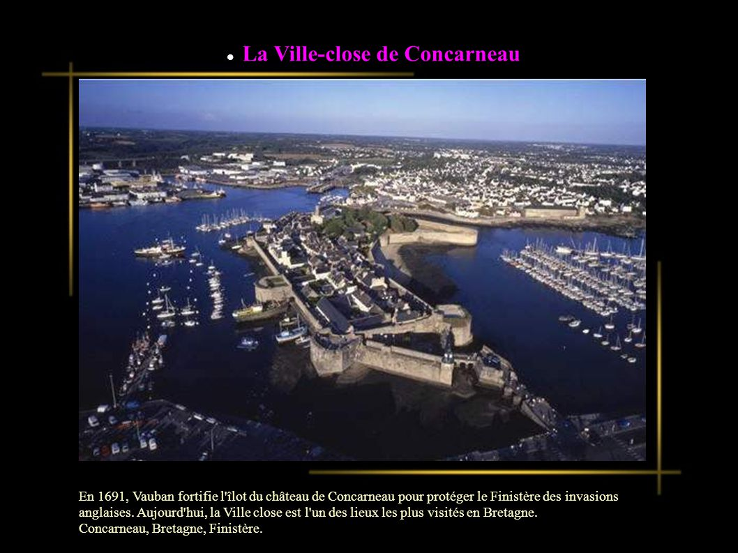 La Ville-close de Concarneau