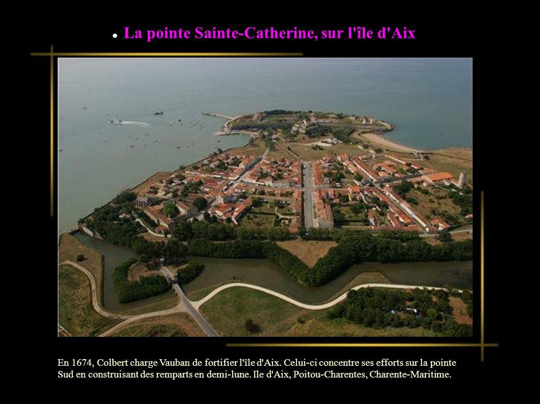 La pointe Sainte-Catherine, sur l île d Aix
