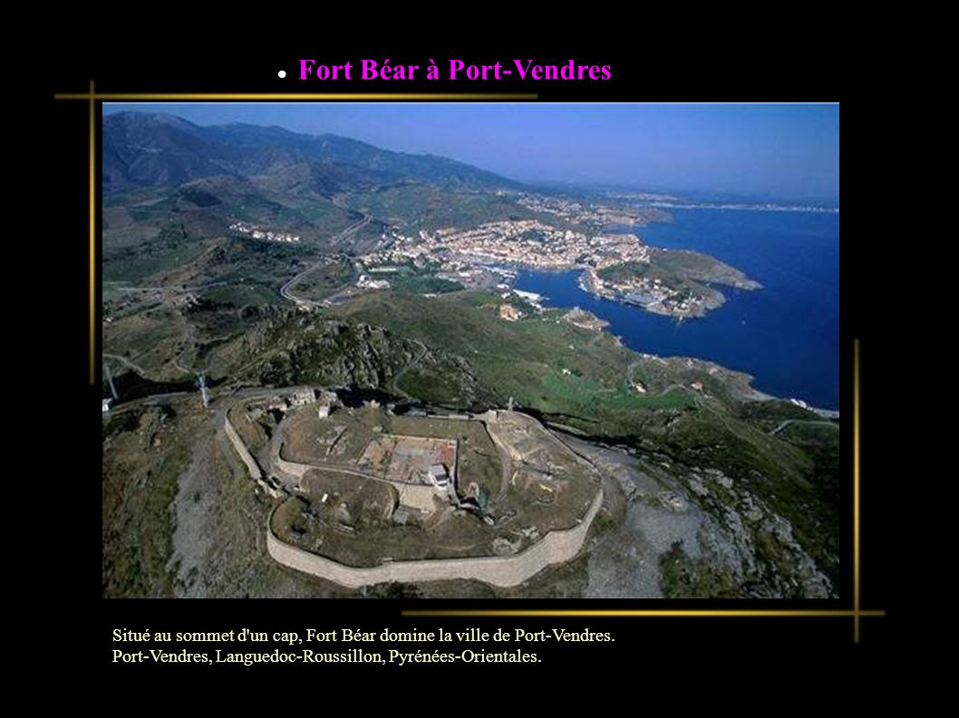 Fort Béar à Port-Vendres