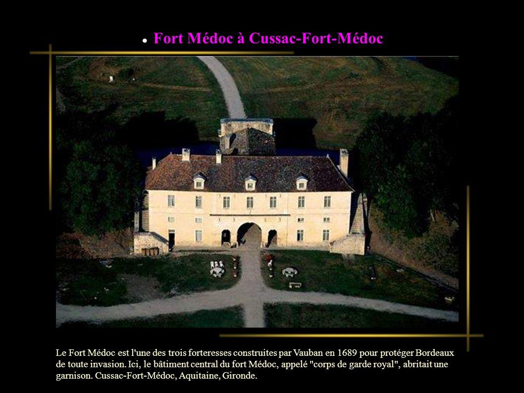 Fort Médoc à Cussac-Fort-Médoc