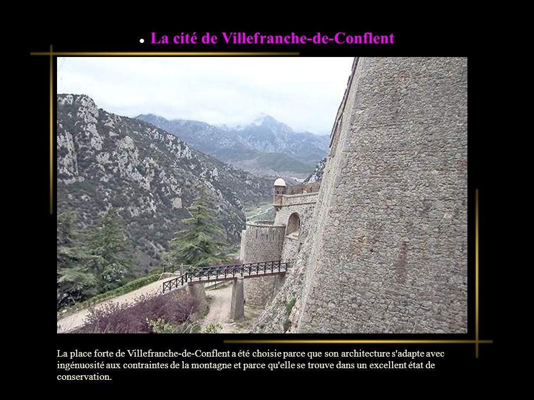 La cité de Villefranche-de-Conflent