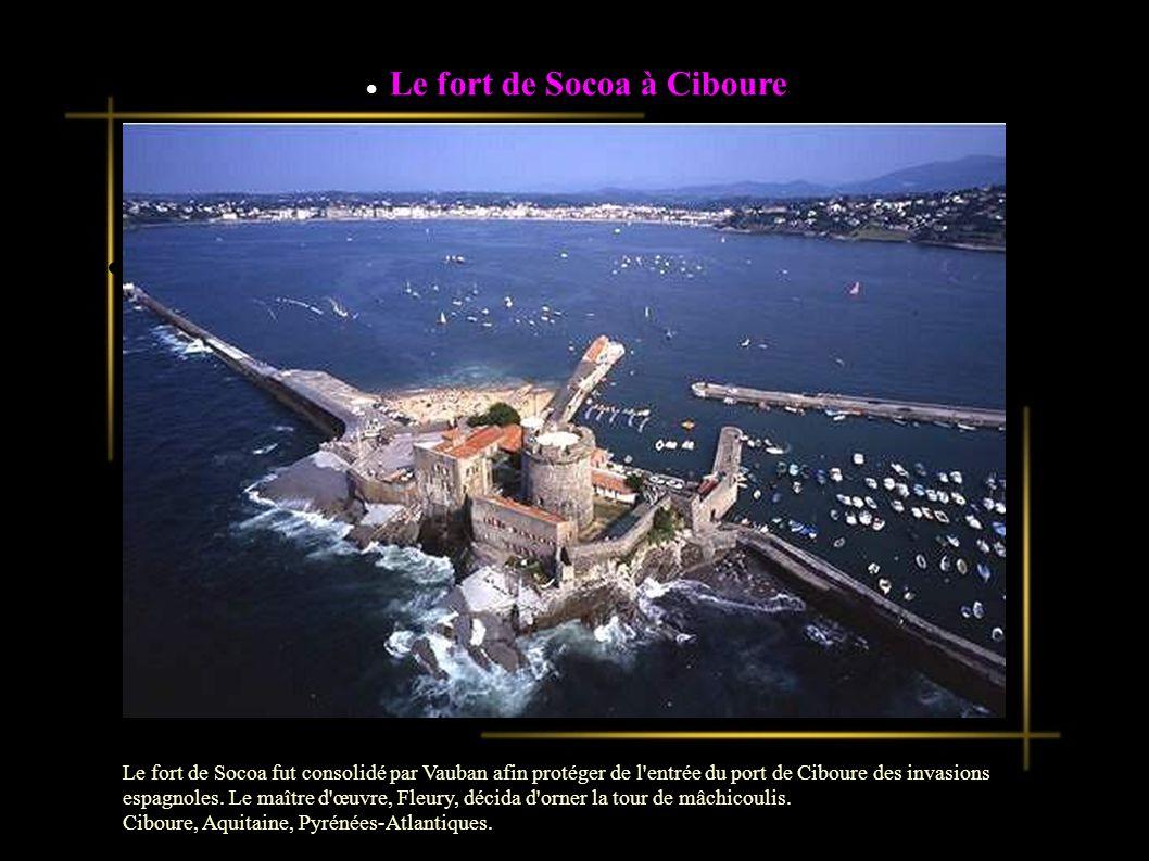 Le fort de Socoa à Ciboure