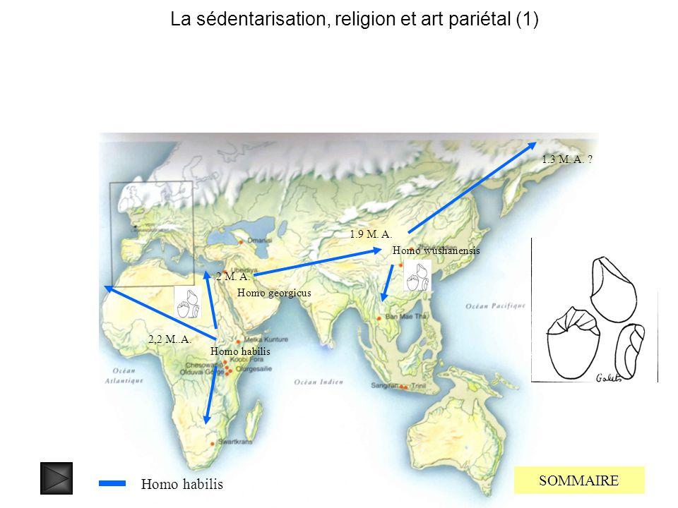 La sédentarisation, religion et art pariétal (1)