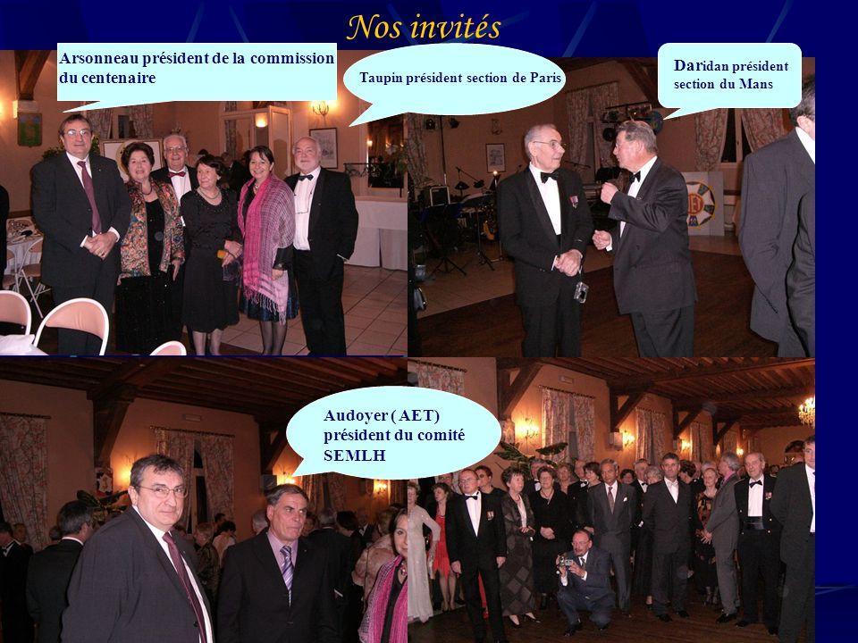 Nos invités Arsonneau président de la commission du centenaire