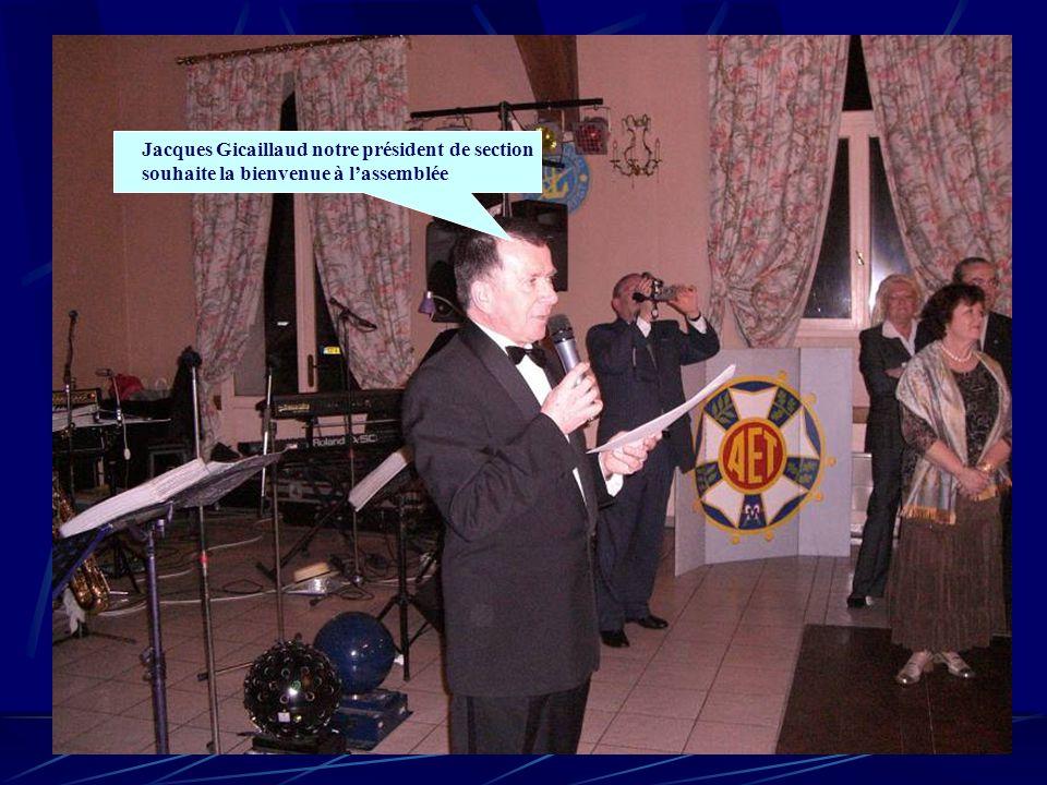 Jacques Gicaillaud notre président de section