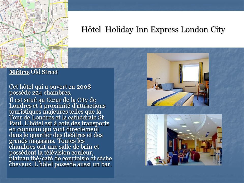 Hôtel Holiday Inn Express London City