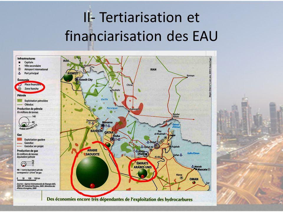 II- Tertiarisation et financiarisation des EAU