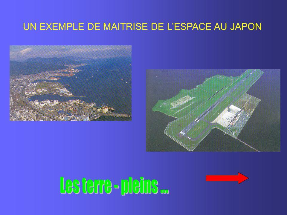 UN EXEMPLE DE MAITRISE DE L'ESPACE AU JAPON