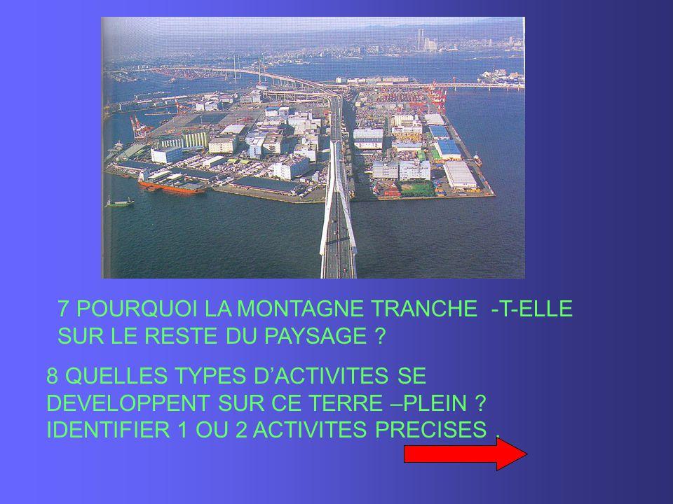 7 POURQUOI LA MONTAGNE TRANCHE -T-ELLE SUR LE RESTE DU PAYSAGE