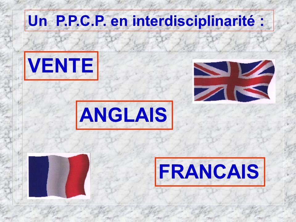 Un P.P.C.P. en interdisciplinarité :