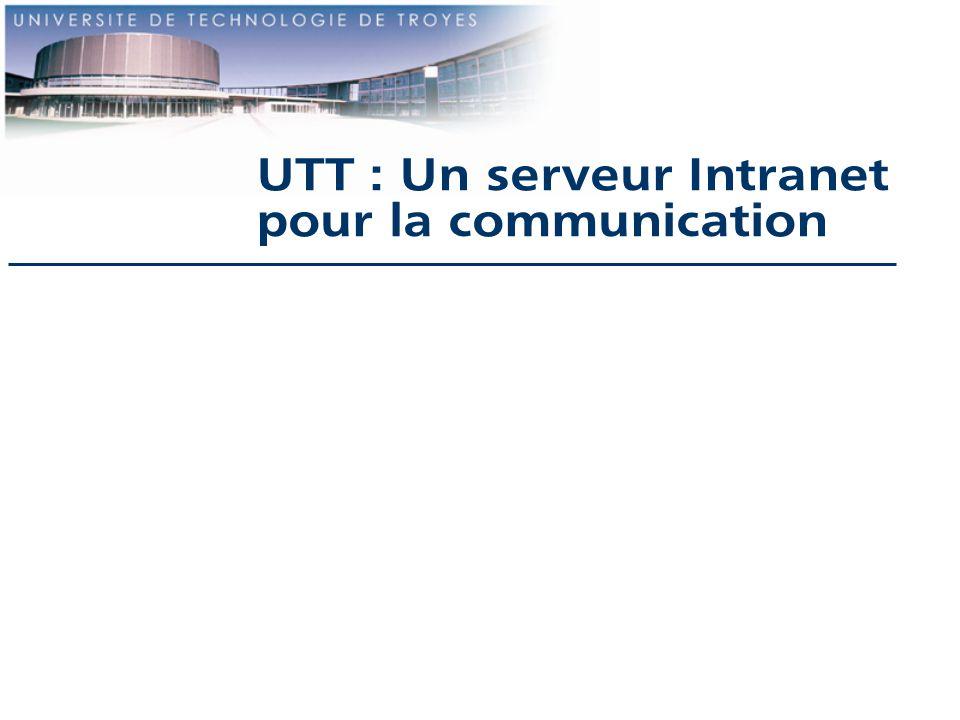 UTT : Un serveur Intranet
