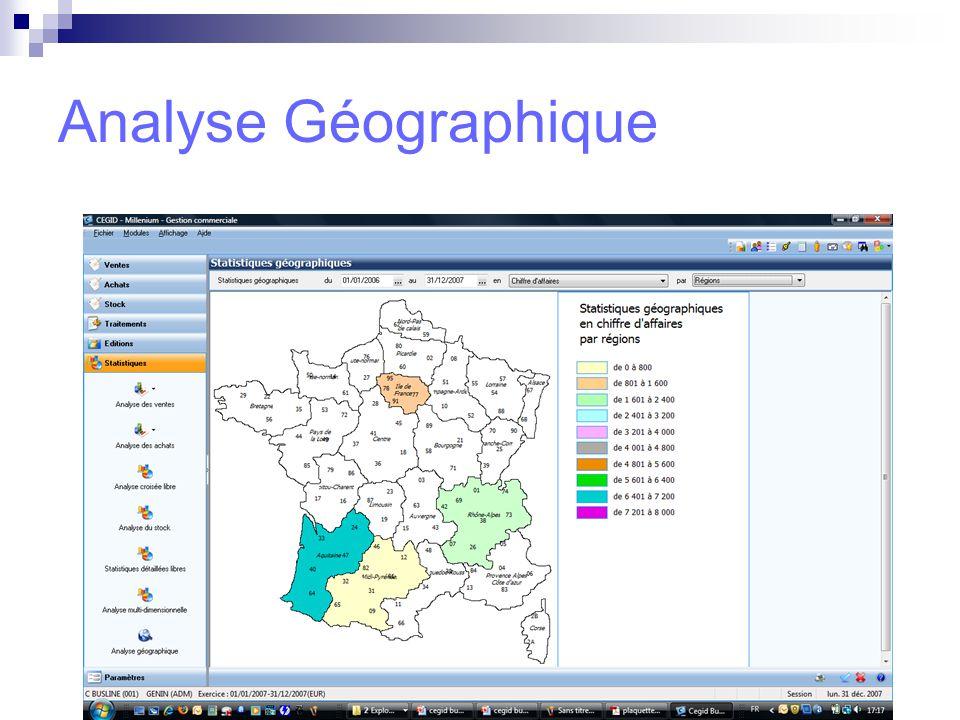 Analyse Géographique