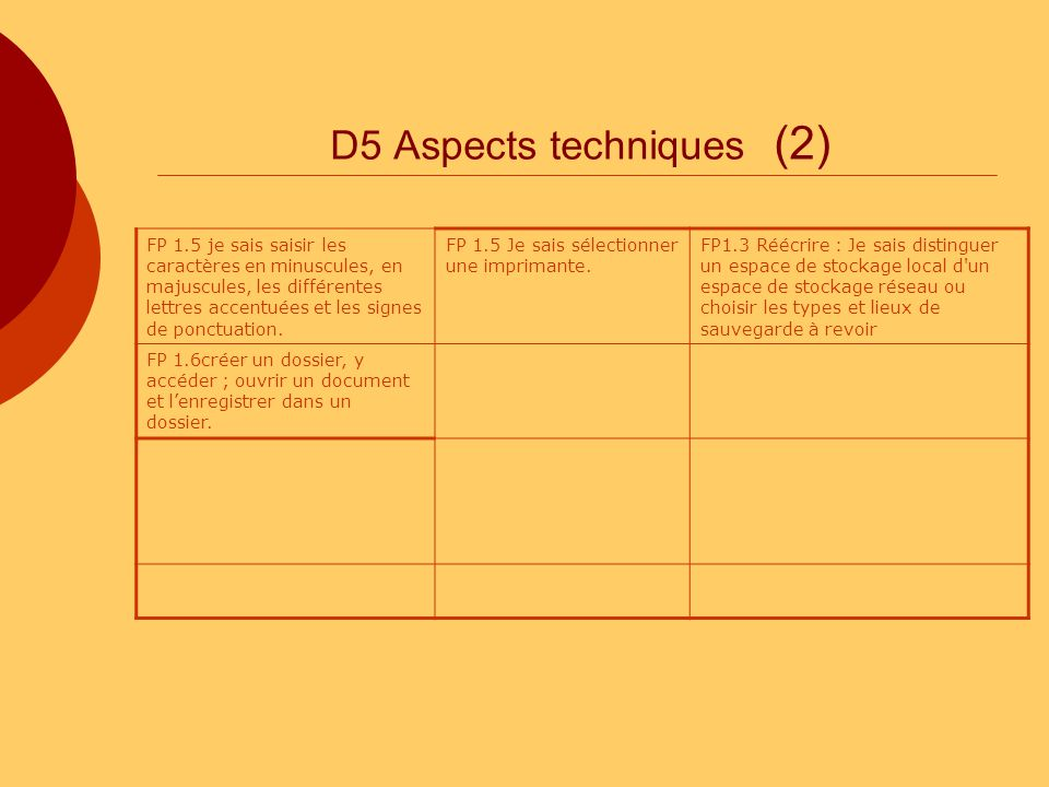 D5 Aspects techniques (2)
