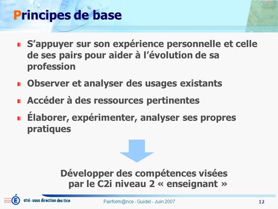 Développer des compétences visées par le C2i niveau 2 « enseignant »