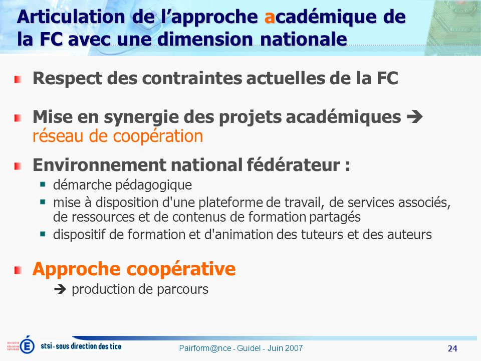 Pairform@nce - Guidel - Juin 2007