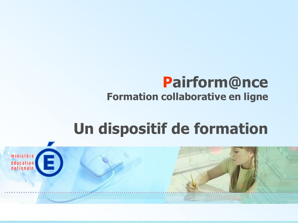Pairform@nce Formation collaborative en ligne