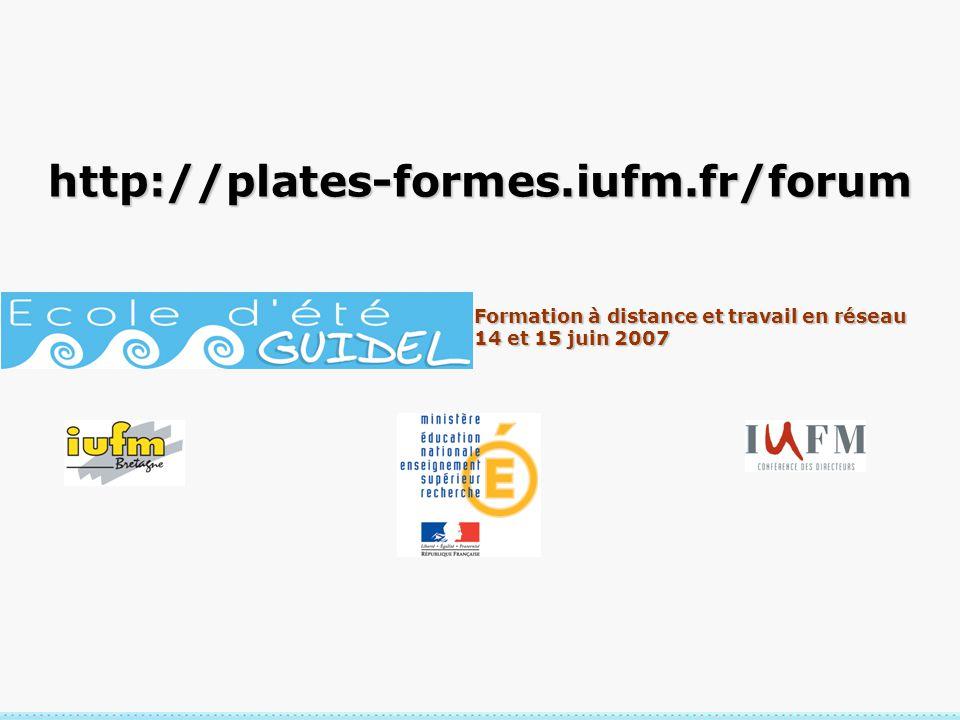 http://plates-formes.iufm.fr/forum