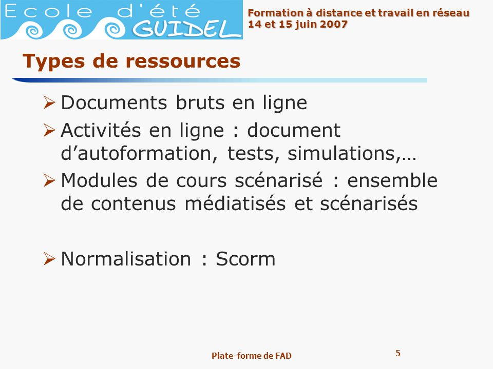 Documents bruts en ligne