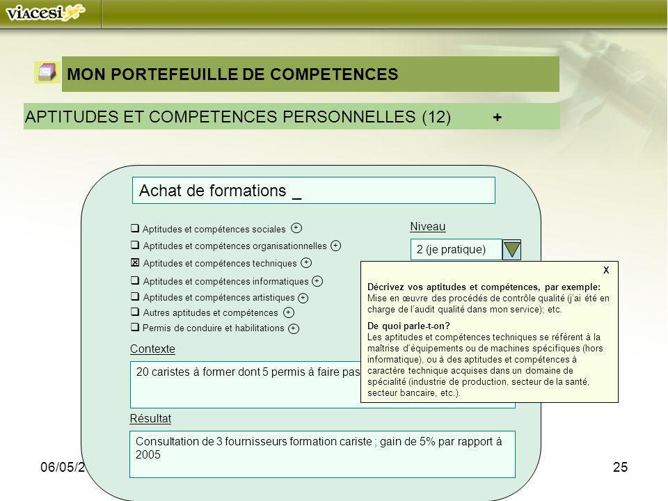 MON PORTEFEUILLE DE COMPETENCES