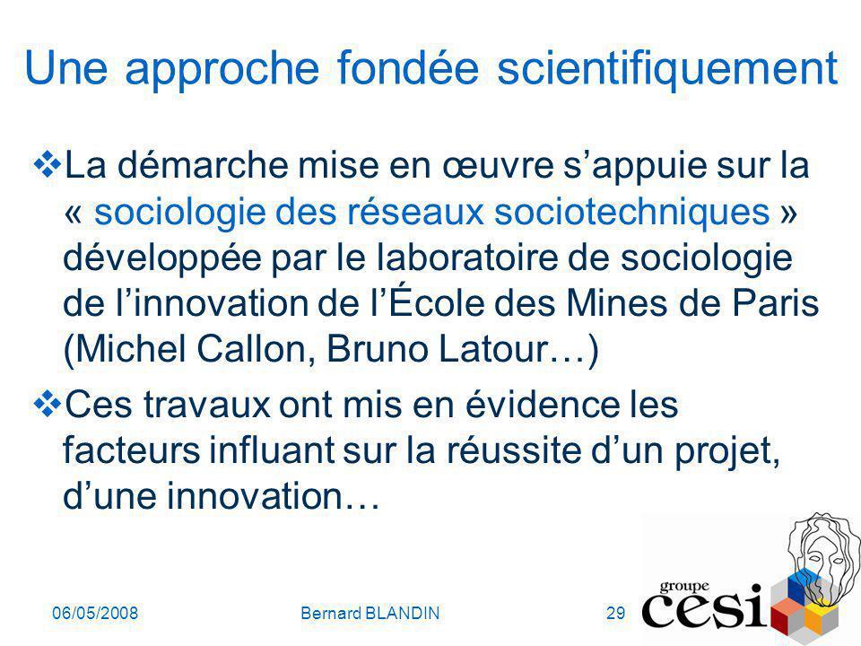 Une approche fondée scientifiquement